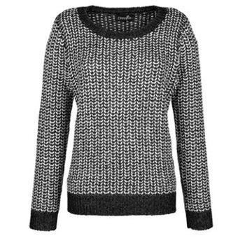 Pullover in schönem Farbdessin