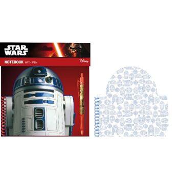 35-9265, Notizbuch Star Wars mit Stift