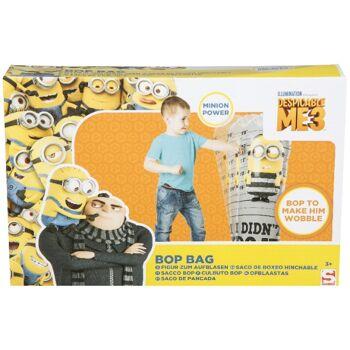 35-5646, aufblasbarer Bop-Bag Minions 80 cm, Aufblasbare Figur mit Gewicht, Schlagfigur+++++++++