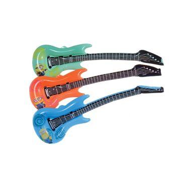 35-7827, Minions Aufblasbare Luftgitarre 90 cm