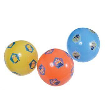 35-8237, Aufblas-Ball Minions 35 cm, Wasserball, Fussball, Spielball, Fußball