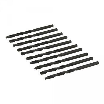HSS- Spiralbohrer, metrisch, 4,5mm, 10er Pack