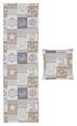 Kissenhülle Kissenbezug Dekokissen Motiv Home Patchwork 38x38 cm