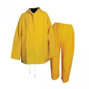 Regenanzug, 2- tlg., Größe: M (127 cm)