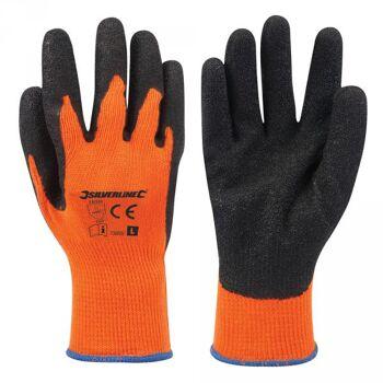 Arbeitshandschuhe, Signalfarbe Orange, Größe: L