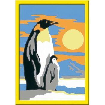 Malen nach Zahlen Süße Pinguine