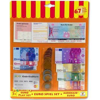 Shop & Kitchen Spielgeld Euro, 2 Set