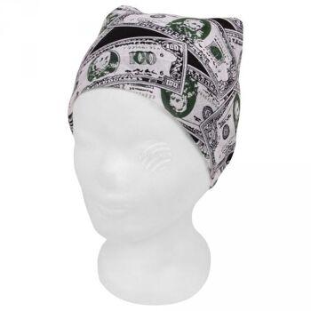Bandana  Geldscheine schwarz