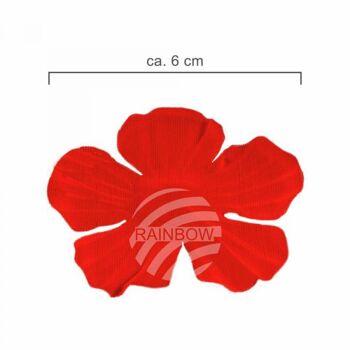 Hawaii Blumenkette classic rot grün ca. 100 cm