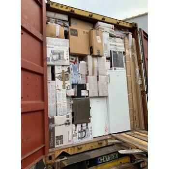 Mixpaletten Container LKW Export Elektro Haushaltsgeräte Mix Palette