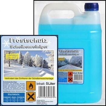 12-15006203, Scheibenfrostschutz 5 Liter bis -30°C