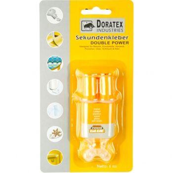 12-77081, Sekunden-Kleber, 2 Komponenten-Kleber, geeignet für Metalle, Kunststoffe, Keramik, Porzellan, Glas, Schmuck & Holz