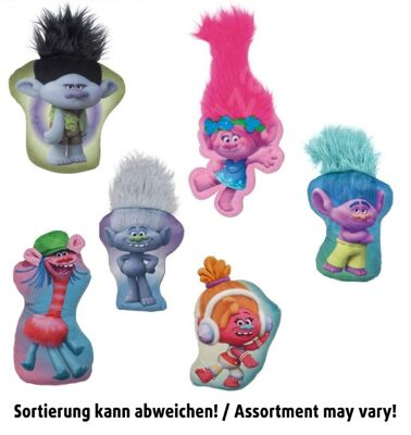 35-7131, Trolls Kissen mit Haaren 25 - 35 cm