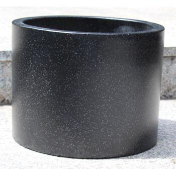 80 elegante Design-Terrazo-Blumenkübel, rund, verschiedene Größen