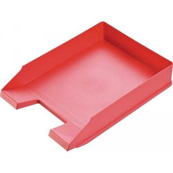 HELIT Briefablage für DIN A4-C4 Kunststoff rot, 5 Stück
