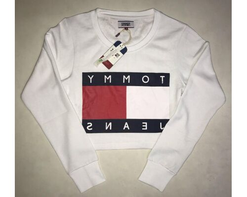 Tommy Hilfiger wommens cropped swetshirts