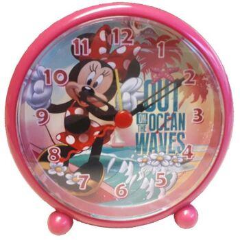 27-44581, Disney Wecker Uhr Minnie Mouse