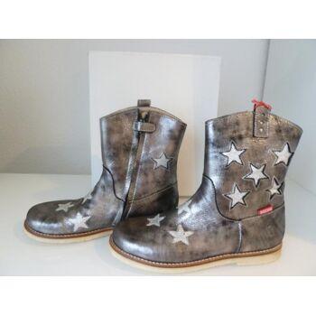 Shoesme Stiefelette grau metallic mit Sternen Mädchen Gr.35