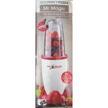 GOURMETmaxx Mr.Magic Standmixer 8in1 250Watt - rot/weiß
