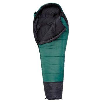 12-903004, Mars Camping-Mumienschlafsack für 3-Jahreszeiten  (hält bis -12°C)  grün