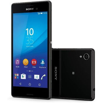 Sony Xperia M4 Aqua Smartphone (5 Zoll (12,7 cm) Touch-Display, 8 GB Speicher, Android 5.0) schwarz