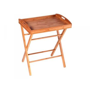MK Bamboo BUDAPEST - Bett Tablett mit Ständer 50x35cm