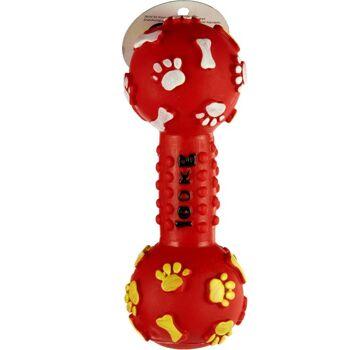 28-115941, Hundespielzeug Knochen, quietscht beim Draufbeißen