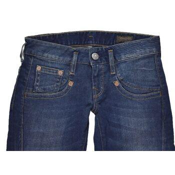 Herrlicher Shyra Slim 5308 D9666 Stretch W25L32 Damen Jeans Hosen 1-1395