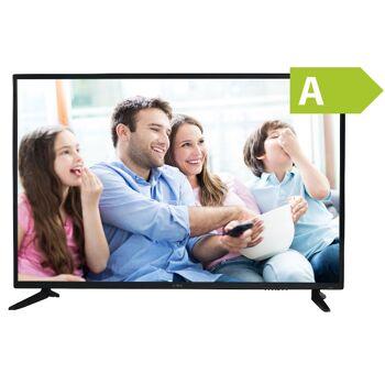 Denver LED-5571 55 Zoll 4K Ultra-HD LED TV Fernseher mit Triple Tuner, DVB-T2 /-C /-S2 HDMI, Ci+  Energieeffizienzklasse: A