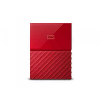 WD My Passport 2TB Rot Externe Festplatte WDBS4B0020BRD-WESN