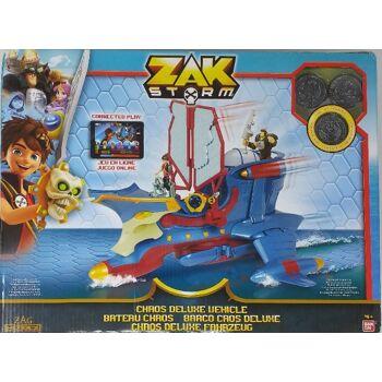 12-540914, BANDAI Zak Storm Actionspielzeug-Chaos Schiff