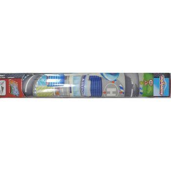 12-543155, Dickie Toys Majorette Spielteppich Airport (Flughafen) 96 x 50 cm, Straßenteppich