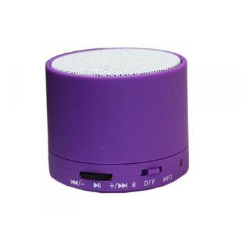 3W Mini Speaker mit Bluetooth (lila)