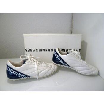 Bikkembergs Sneaker Weiß/Blau BKP101072.V.39 Gr.39