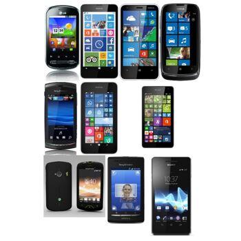 Mischposten Samsung, LG, Nokia, Sony, Motorola , Apple sowie anderen Phones
