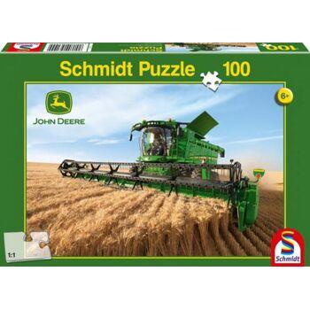 Puzzle John Deere Mähdrescher S690 100 Teile, 1 Stück