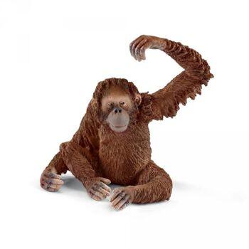 Schleich Orang-Utan Weibchen, 1 Stück