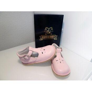 EQUERRY Ballerina Leder Cervo Rosa Gr.20