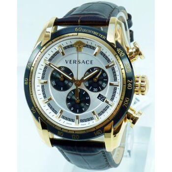 Versace Uhr Uhren Herrenuhr Chronograph VEDB00619 V-RAY CHRONO