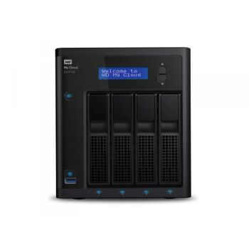 WD My Cloud EX4100 32TB NAS incl WD Red drives WDBWZE0320KBK-EESN