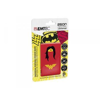 EMTEC Power Bank 2500mAh Justice League (Wonderwoman)