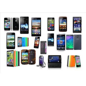 Mischposten von Marken Smartphones