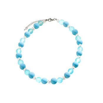 Polaris-Kette hellblau-weiß