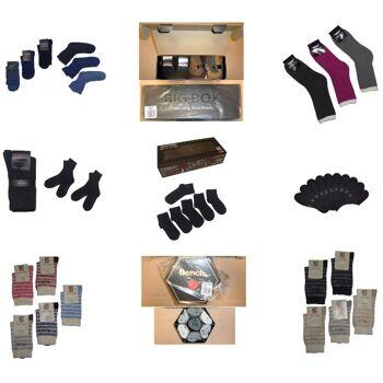 Socken Geschenkbox Mix H.I.S Bench...20er, 7er, 6er,... 1.Wahl Restposten OVP neu