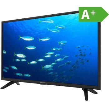 Krüger & Matz 32 Zoll HD DLED TV KM0232T Triple Tuner DVB-T2/T/C A+ USB CI+ Fernseher Fernsehgerät CI+ Slot für PayTV