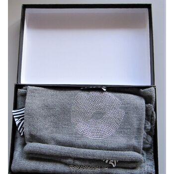 Handschuhe (Winterhandschuhe), Mütze und Schal-Set, Touch Screen