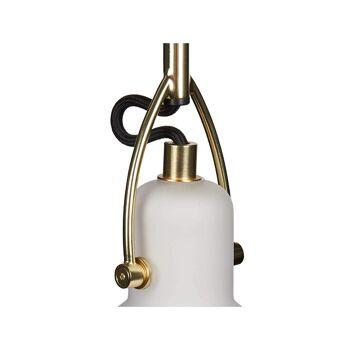 40 x IMPRESSIONEN living Designer Deckenleuchte Opalglas Messing Made in Garmany Statt 99,00 € Stück nur 14,90 € Neu OVP.