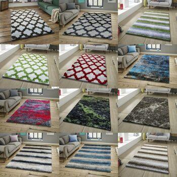 Shaggy Polyester Hochflor Teppich höchster Qualität Top Preis vom Hersteller