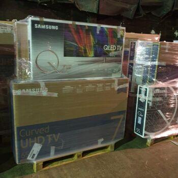Samsung Fernseher Full HD, 3D, 4K,Curved, QLED,Smart TV, B&C Waren