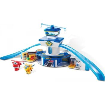 World Airport Playset Control Tower inclu.sive JETT & Donnie